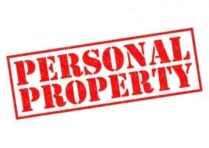 Recovering Personal Property